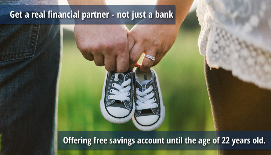 Offering free savings account until the age of 22yrs old.